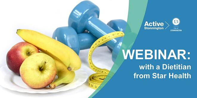 webinar food for health, dietitian lina la guardia, harold holt swim centre, free online food and health event, eating well, cooking healthy, food topics free online healthy eating tips, snacks, food, immune system, mood, community event, fun things to do, learn something new, personal develoopment