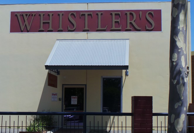 Whistlers chocolate factory outlet