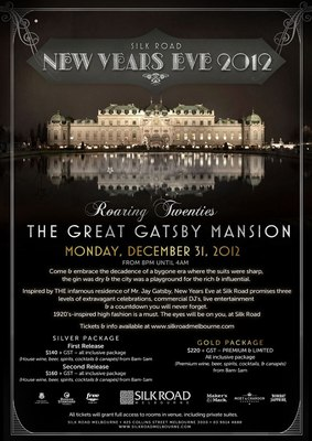 New Years Eve at the Great Gatsby mansion. Courtesy of Silk Road
