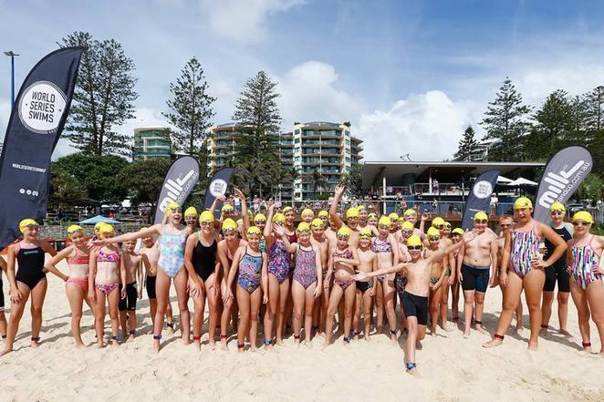 2017 Mooloolaba Mile Ocean Swim, World Series Swims, 5 March 2017, Milk & Co, Mooloolaba Mile, Mooloolaba 3.0km, Mooloolaba Half Mile (800m), Junior Giants (300m and 800m), Kids Dash, Junior Giants, Stretch Yoga, Prizes