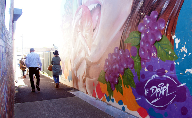 One of the reasons to visit Stanthorpe is the street art walking trail