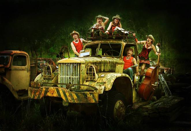 Black Mountain qld, Black Mountain Unplugged, The Hillbilly Goats, qld festivals,