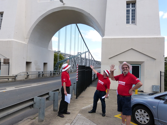 Brisbane Open House 2016,Walter Taylor Bridge,Brisbane Greeters