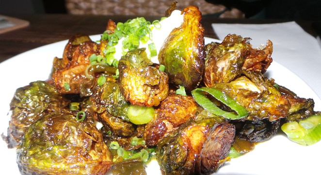 Brussel sprouts hipster food