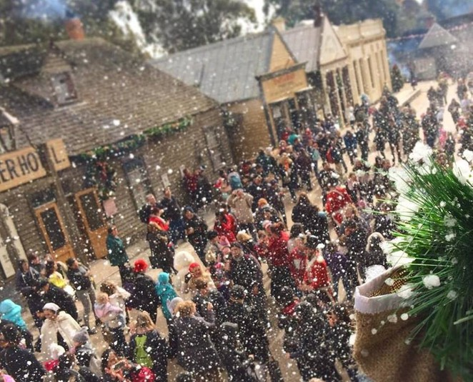 Christmas in july,Christmas in july Melbourne,children's events Melbourne, children's entertainment,sovereign hill,luna park,wonderland,cuckoo restaurant,children's events,children's events 2016,