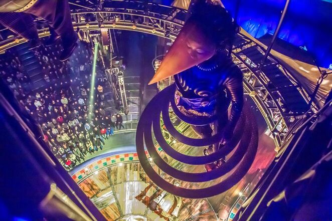Kurios is the latest show from Cirque du Soleil
