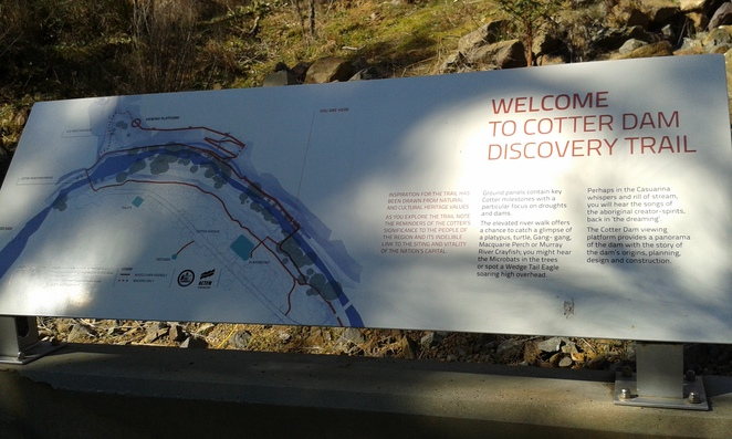 Cotter Discovery Trail, Cotter Avenue Reserve, Canberra, swimming, walks in canberra