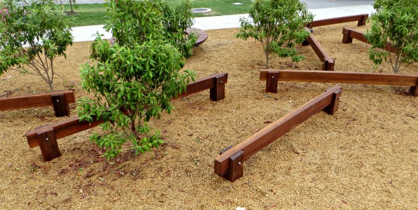 darlington parklands yarrabilba playground balance beams