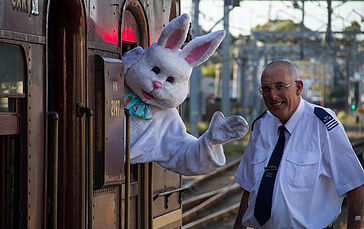 Easter Long Weekend, Easter Bunny, Train Rides, Historic, Family Friendly, Live entertainment