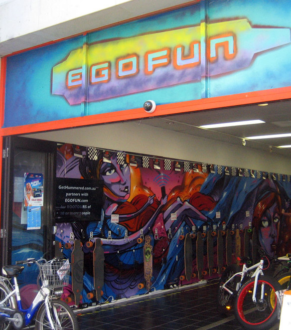 Ego fun has electric everything for fun, such as electric skateboards, min-segways and electric bicycles