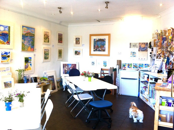 erin hill art studio, kids holiday sketching