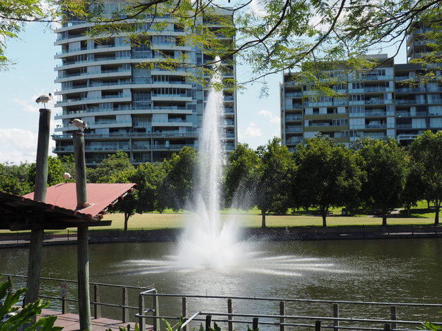 Fountain, Roma St Parklands