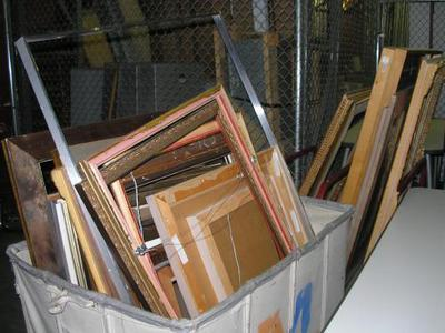 frames, recycle, Materials for the Arts