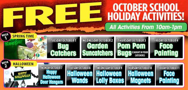 Free Events for the holidays