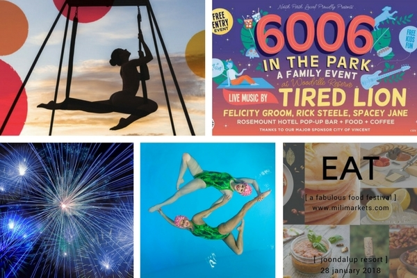 Free Perth events January