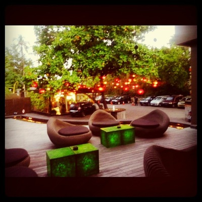 Front Seating Area @ Ku De Ta