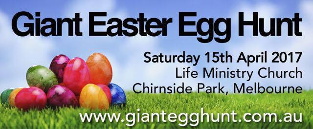 Giant Easter Egg Hunt