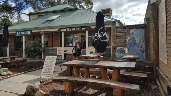 Linda's Billy Tea Rooms, Glenrowan