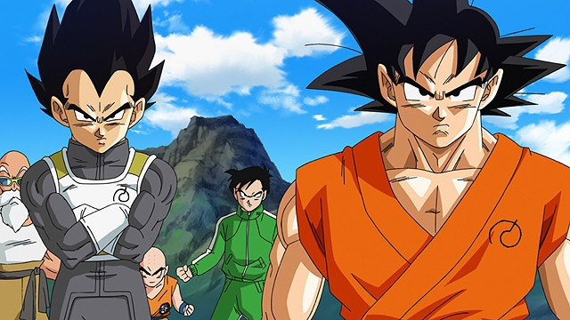 Goku, Vegeta, Resurrection F, Dragon Ball Z