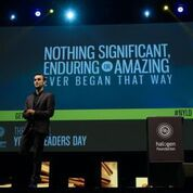 halogen foundation, national young leaders day, schools, leadership, youth, learning, expo, mike baird, halogen foundation