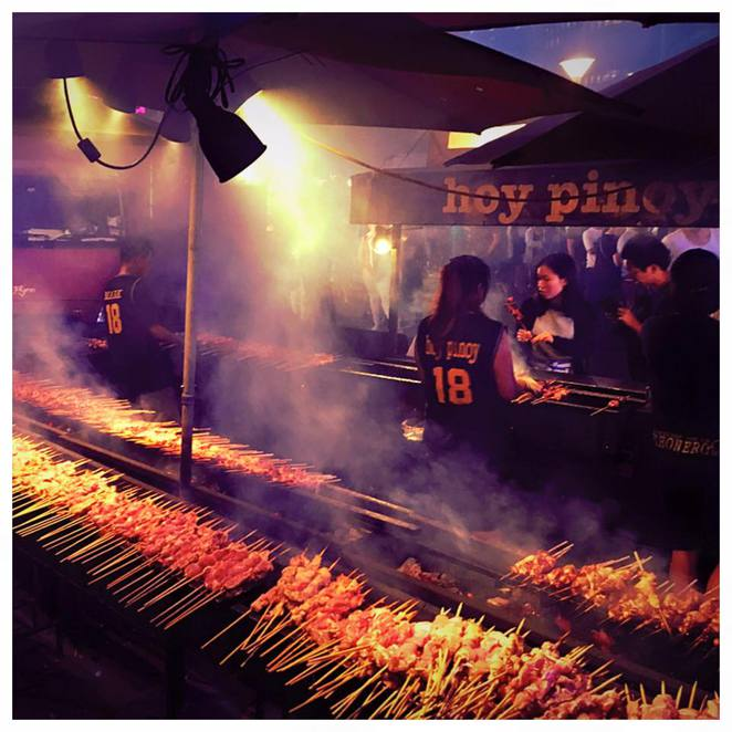 Hills Food Fest, The Australian Hotel & Brewery, Food Festival, Hoy Pinoy Bbq
