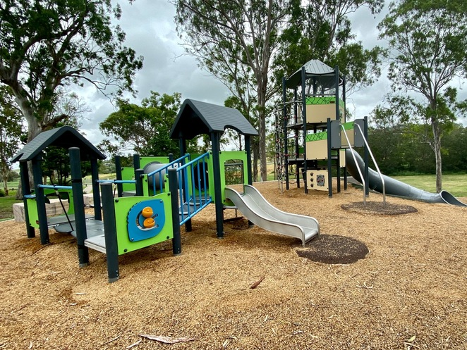 Young children's playground at Hodgson Vale Lions Park