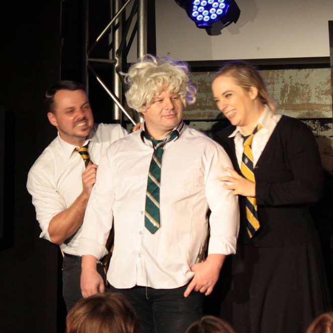 ImproMafia Potter Unplotted Harry Brisbane Comedy Festival Powerhouse