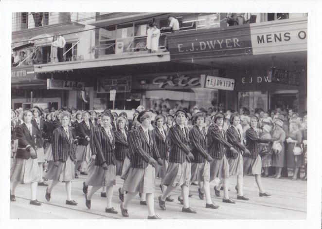 Kedron State High School,60th anniversary,september 14 2016,1964 Youth Week March