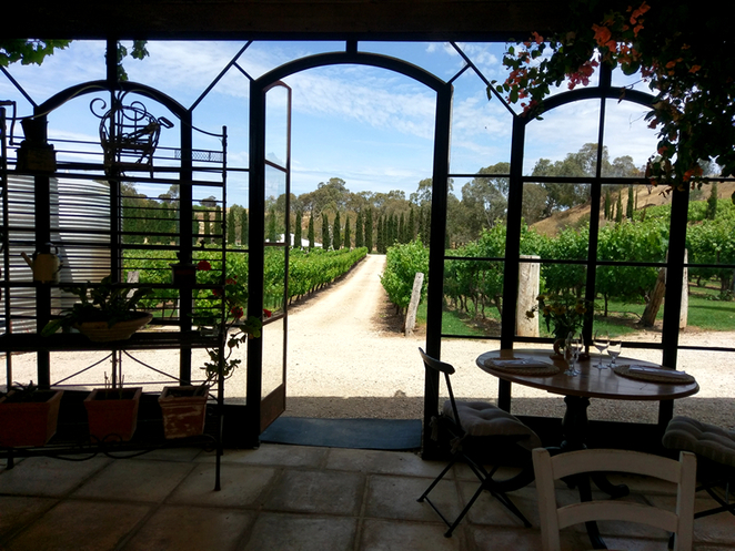 Kingsbrook Restaurant Cafe Weddings Goolwa Cittaslow Adelaide Fleurieu Peninsula Lunch Relaxing Bucolic Country Rustic Mediterranean Villa, pizza, wood oven, countryside
