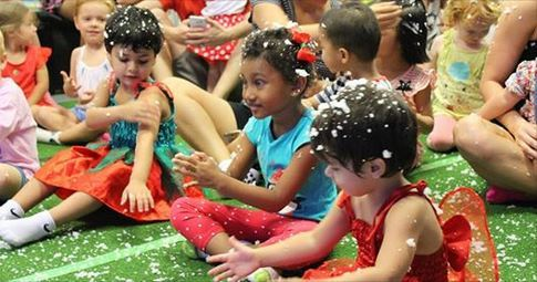 KJS Entertainment, Darwin, toddler, children, Christmas party, children's play, Christmas
