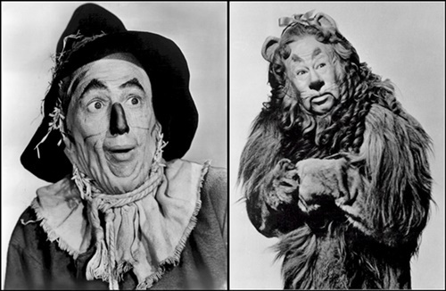 Lion,and,Scarecrow,from,Wizard,of,Oz