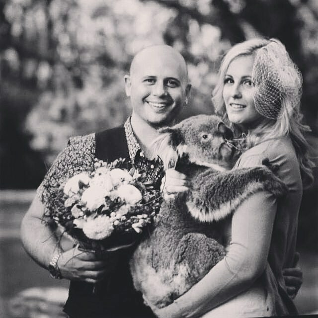 Little Animal Company pet dog wedding koala
