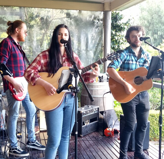 Live music, band, music, winery, entertainment, Yarra Valley