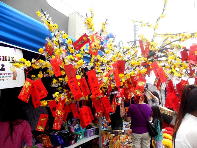 lunar new year decorations