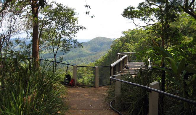 Mapleton Falls Lookout