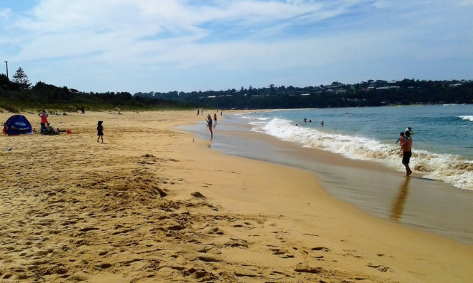 merimbula beach, merimbula, south coast, new south wales, overnight trips from canberra, ACT, NSW, swimming, beaches,