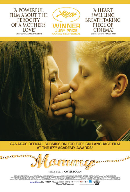 mommy, film review, movie review, canadian, xavier dolan, anne dorval, suzanne clement, antoine-Oliver Pilon, Patrick Huard, cinema nova, carlton