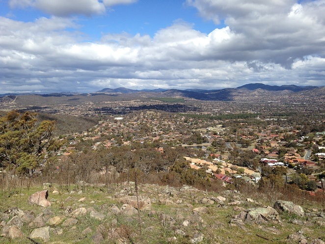 mount wanniassa, wanniassa hills, canberra, ACT, canberra nature park, walking trails, walking paths, bushwalking, dog walking,