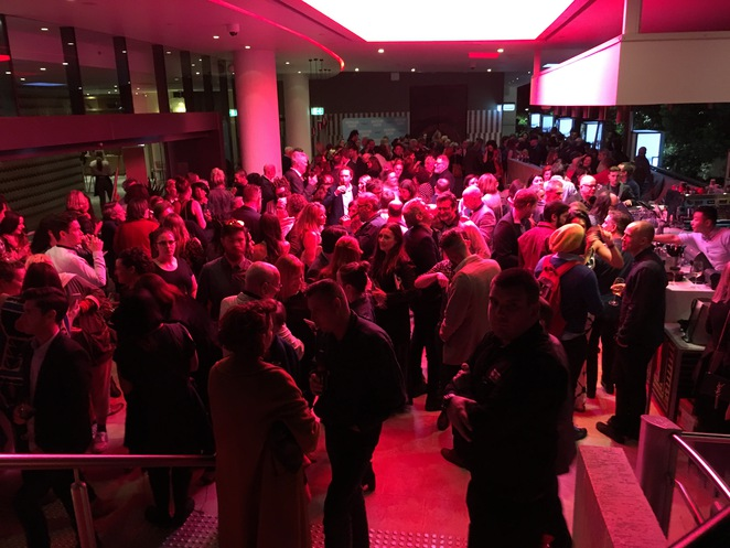 once, royal, david's, city, play, queensland, theatre, opening, night