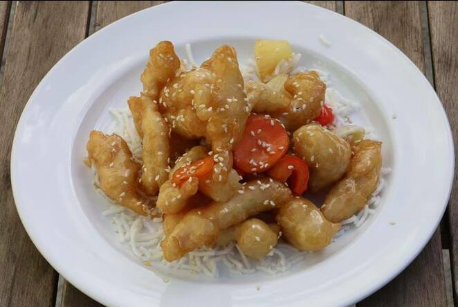 Honey chicken (image courtesy of One Plus One Kitchen) is an Australian favourite