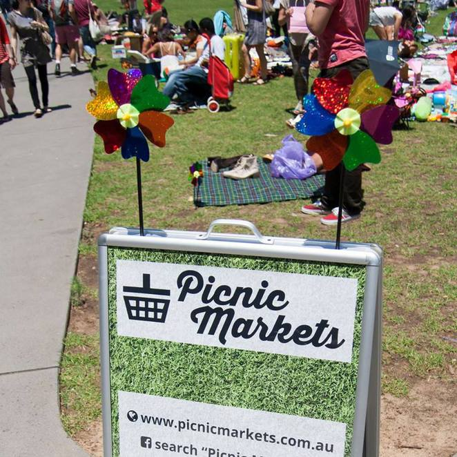 picnic markets, markets, surry hills markets, prince alfred park
