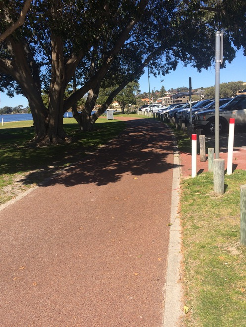 Pram friendly walks South of the River Deep water point Mt pleasant