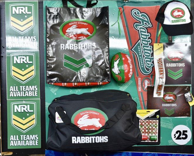 Rabbitohs Showbag, NRL Showbag, Rugby League Showbag, Sydney Royal Easter Show, Showbag