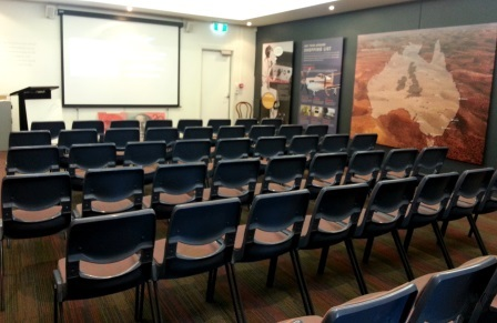 Royal Flying Doctor Service, Kalgoorlie, tour, seminar room