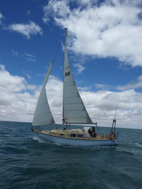 sailing, Port Pirie, Spencer Gulf, fishing