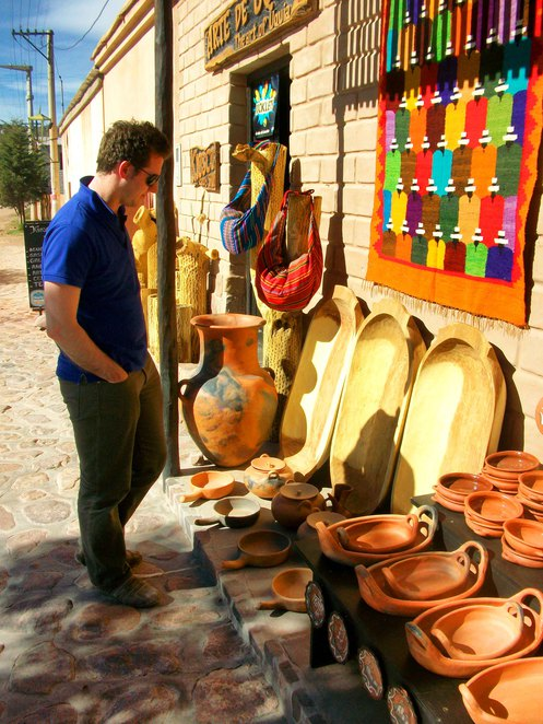 Salta province north west argentina humahuaca jujuy landscapes local arts and crafts