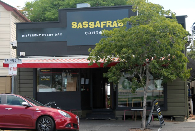 sassafras ricotta hotcakes breakfast lunch brisbane paddington latrobe canteen