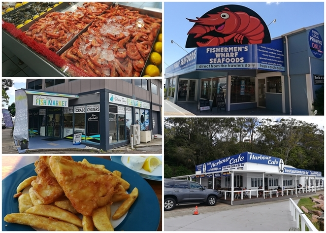 seafood, best seafood, nelson bay, fish and chips, bay harbour cafe, bubs fish and chips, things to do, sunday, prawns, fresh seafood, ports stephens, australia, fish and chips, family, kids, lunch, dinner,