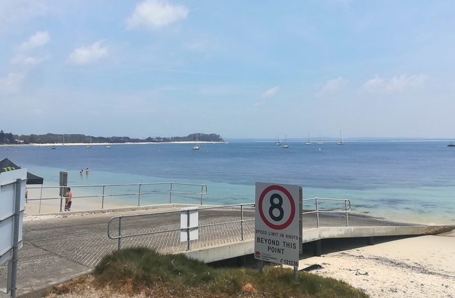shoal bay boat ramp, port stephens, NSW< boats, fishing, where, boats, ramps, NSW, recreational, beach, bay, best boat ramp,