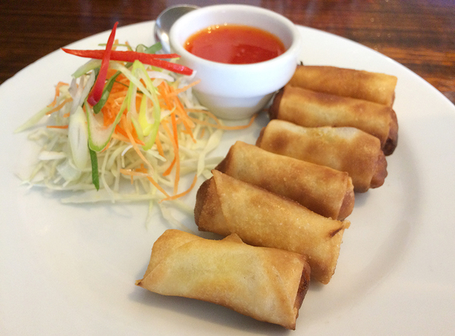 spice i am, spring rolls, thai food, thai restaurants sydney, sydney